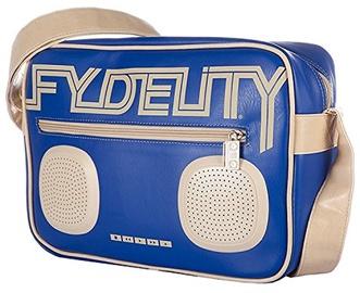 Kuprinė Fydelity Namesake G-Force Shoulder Bag with Speakers Blue