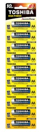 Toshiba Alpha Power AA Alkaline Battery 10x