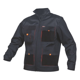 King Norman 11-411 Work Jacket Black XXLS