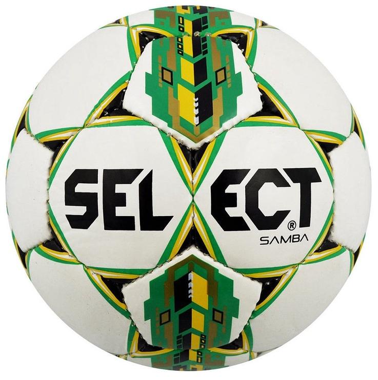 Select Samba Football 15103 White/Green Size 4