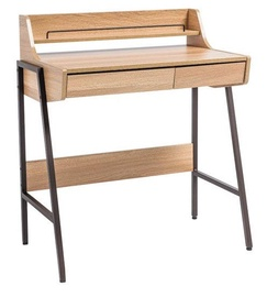 Signal Meble Writing Desk B168 Oak Dark Brown