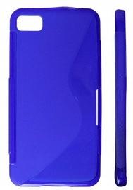 KLT Back Case S-Line Nokia 306 Asha Silicone/Plastic Blue