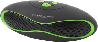 Belaidė kolonėlė Esperanza EP117KG Bluetooth Speaker Black/Green