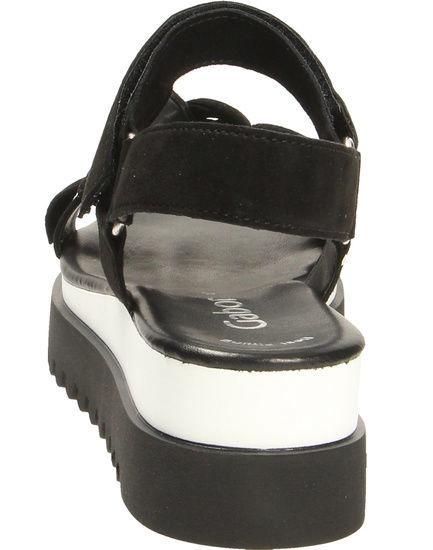 Gabor 23-611 Sandals Black 39