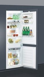 Встраиваемый холодильник Whirlpool ART66122, морозильник снизу