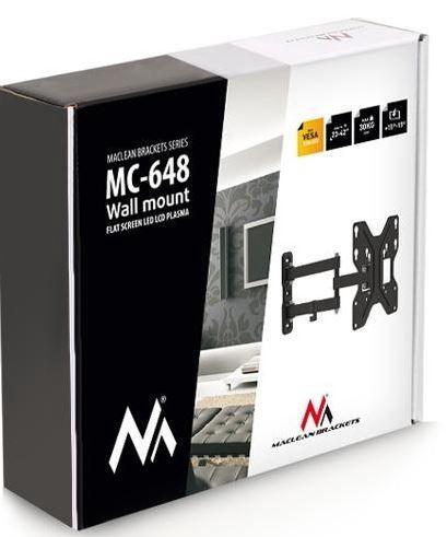 """Televizoriaus laikiklis Maclean Holdes For LCD TV / LED 23 - 42"""""""
