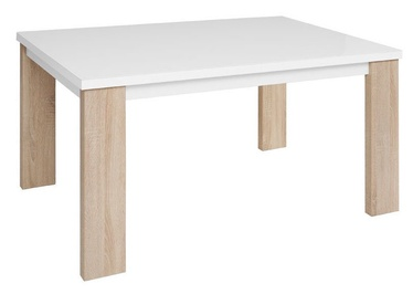 Black Red White Venom Table Sonoma Oak/White
