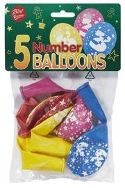 Viborg Balloons Number 3 5pcs 80506-3H