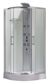 Masāžas dušas kabīne Domoletti K1871-1, 90x90x218 cm