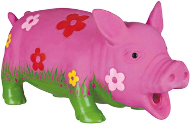 Trixie Latex Pig With Flowers 20cm