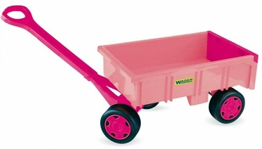 Набор игрушек для песочницы Wader Handcart, розовый