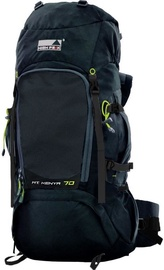 High Peak Kenya 70L Black