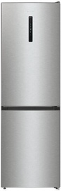 Gorenje Fridge Freezer NRK6192AXL4 Gray