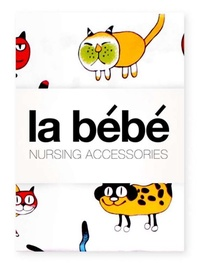 La Bebe Nursing Cotton Bedding Set Cat 3pcs 70566