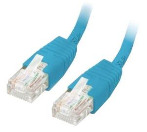 Equip Cable CAT 6 U/UTP 0.5m Blue