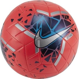 Nike Strike Soccer Ball FA19 SC3639 644 Red Blue Silver Size 5