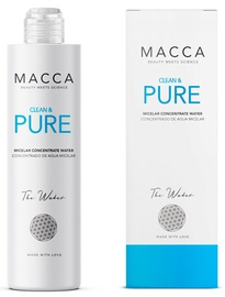 Мицеллярная вода Macca Clean & Pure, 200 мл