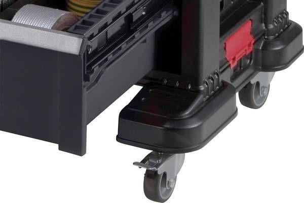 Коробка Keter 237007, черный/красный