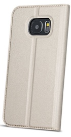 Blun Premium Matt Smart S-View Book Case For Samsung Galaxy J6 Plus J610 Gold