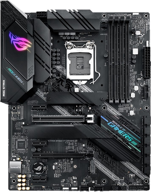 Mātesplate Asus ROG STRIX B460-F GAMING