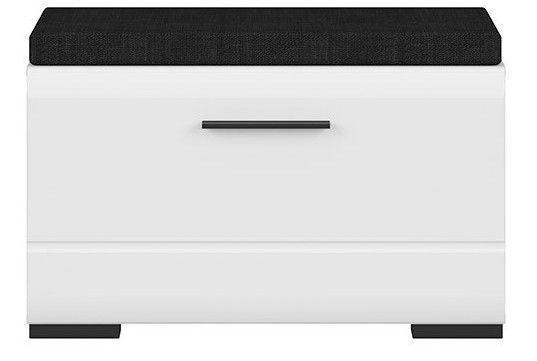 Apavu plaukts Black Red White Fever, balta, 800x370x500 mm
