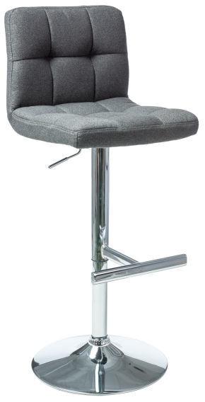 Baro kėdė Signal Meble C-105 Dark Gray