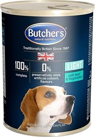 Butchers Plus Light With Beef And Vegetables 400g