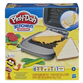Play-Doh Kitchen Creations Cheesy Sandwich Playset E7623
