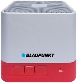 Belaidė kolonėlė Blaupunkt Portable Bluetooth Speaker BT02RD White/Red