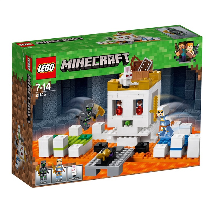 MÄNGUKLOTSID LEGO BLOCS MINECRAFT  21145