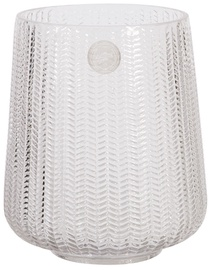 Home4you Vase In Home Flow D16.5xH18.5cm Glass