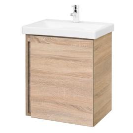 Spintelė voniai SA 50A-5 Sonoma su praustuvu