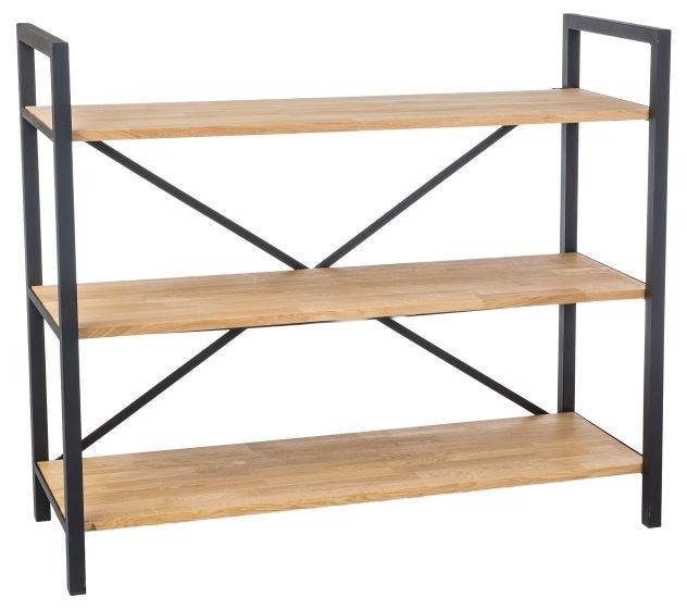 Signal Meble Loras R3 Storage Shelf 100x120cm Oak