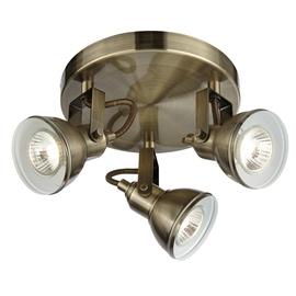 Kryptinis šviestuvas Searchlight Focus 1543AB, 3x10W GU10