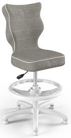 Детский стул Entelo Petit Black HC+F Size 3 VS03 White/Grey, 335x300x895 мм