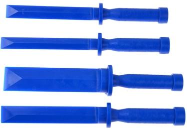 Geko Automotive Plastic Scraper Set 18-36mm 4pcs