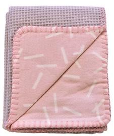 Lodger Baby Blanket Honeycomb 75x100cm Blush