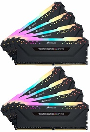 Corsair Vengeance RGB Black 128GB 3200MHz CL16 DDR4 KIT OF 8 CMW128GX4M8C3200C16