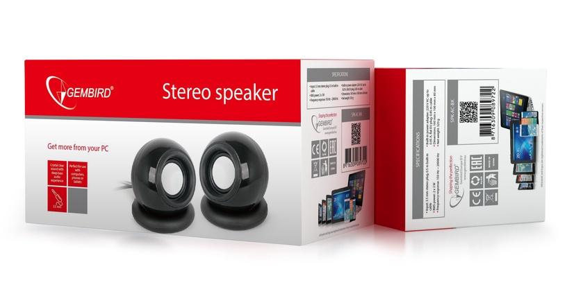 Gembird Stereo Speakers 2.0 Black