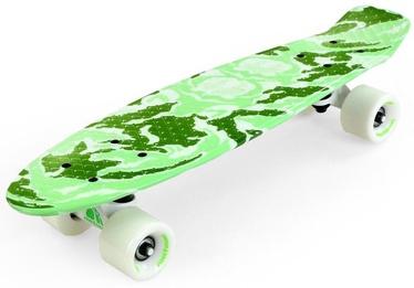 Meteor Pennyboard Light Green Camouflage 23875