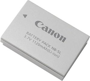 Canon NB-5L Lithium-Ion Battery 1120mAh