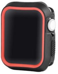 Devia Dazzle Series Protective Case For Apple Watch 40mm Black/Red