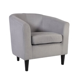 Home4you Wester Armchair Light Grey