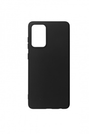 Silicone case Samsung Galaxy A72 Black