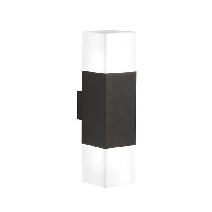 GAISMEKL HUDSON E14 8W LED IP44 MELNS (TRIO)