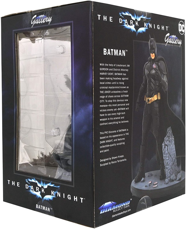 Licenced DC Gallery Batman From Dark Knight Rises Movie Comics Statue 24cm