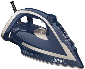 Утюг Tefal Smart Protect Plus FV6872E0, синий/серебристый