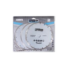Deimantinių pjovimo diskų rinkinys Vagner SDH, 230 mm, 3 vnt.