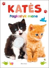 Knyga katės. Paglostyk mane