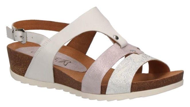 Basutės, Caprice Sandals 28207/22, White, 36.5